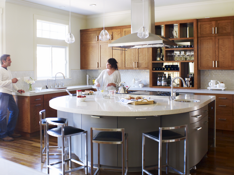 A Kitchen For Entertaining Sunset Magazine