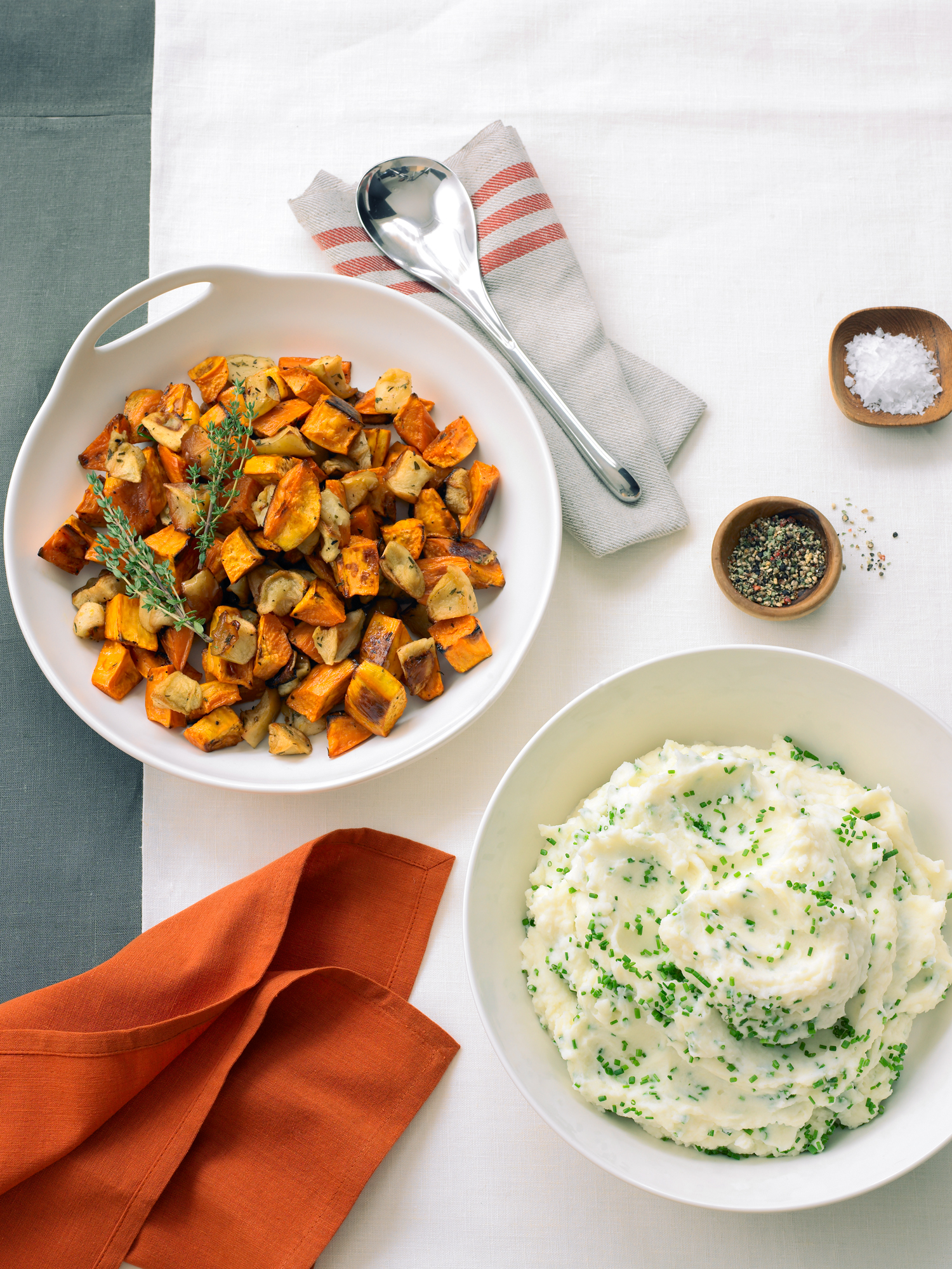 Roasted veg: Roasted Sweet Potatoes and Apples (1013)
