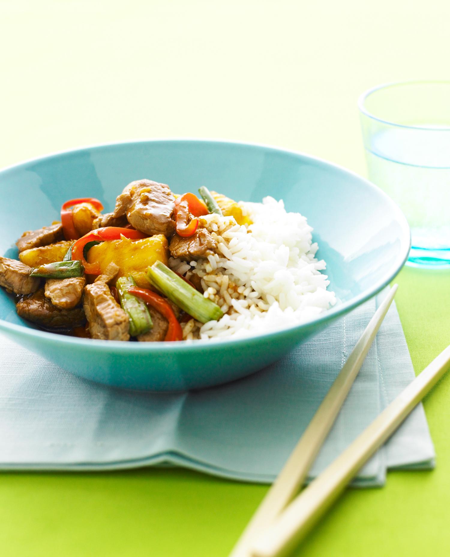 Fast & Fresh Asian Recipes - Sunset Magazine