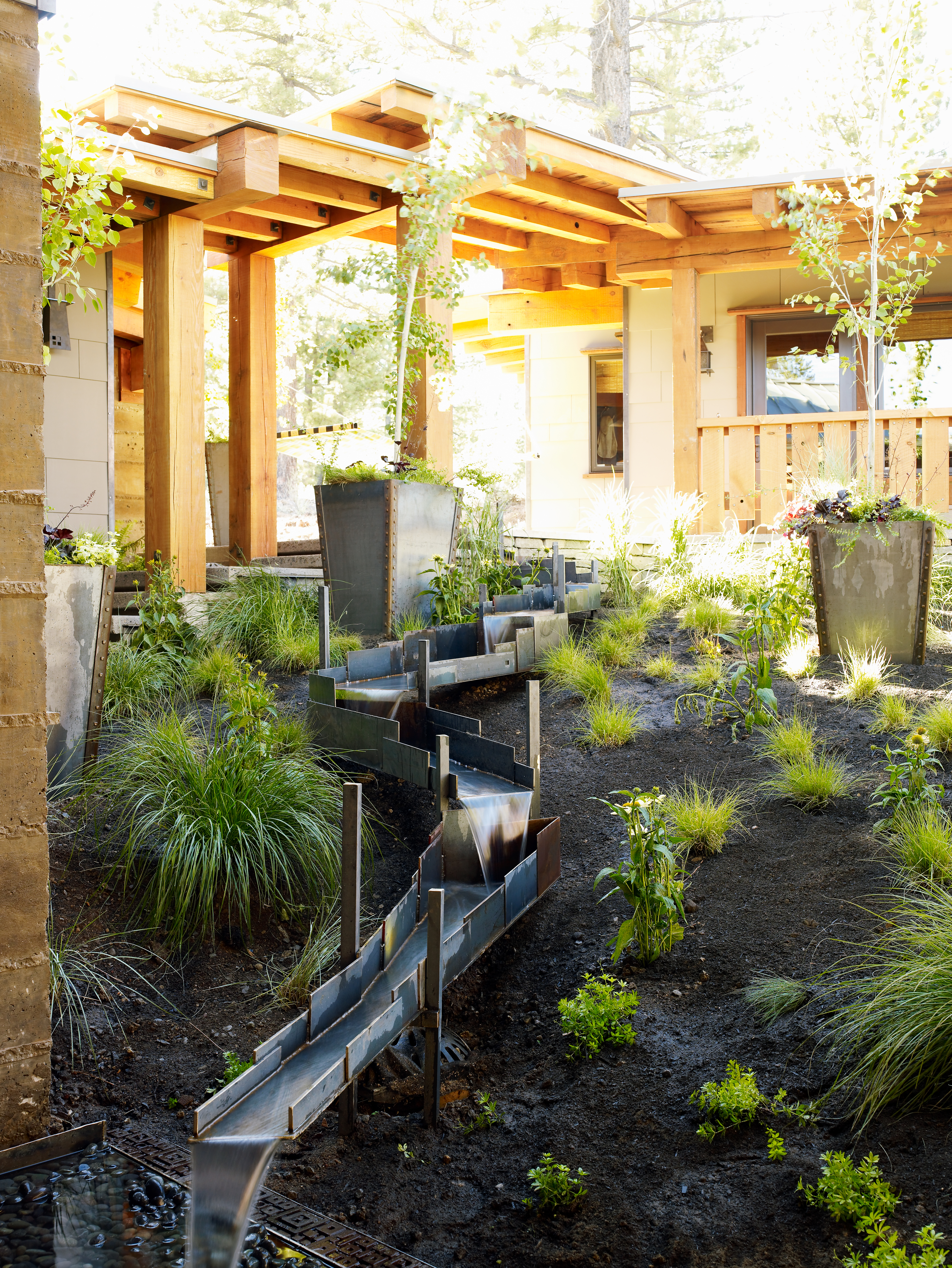A Water Feature For Gold Country