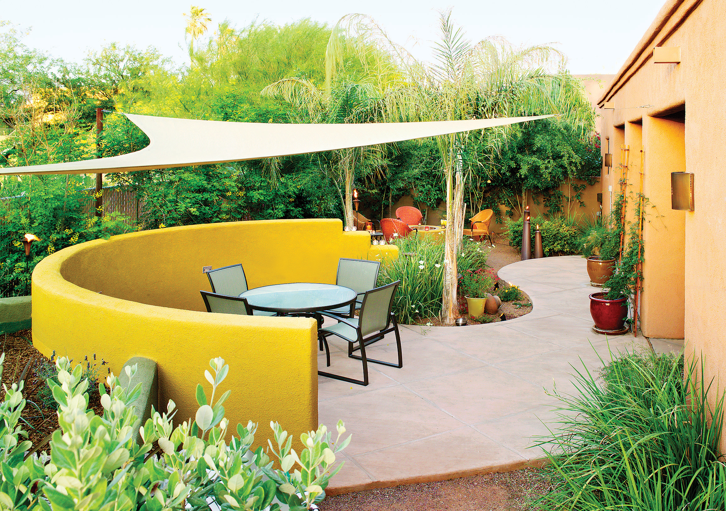 Design A Backyard Bistro Sunset Magazine