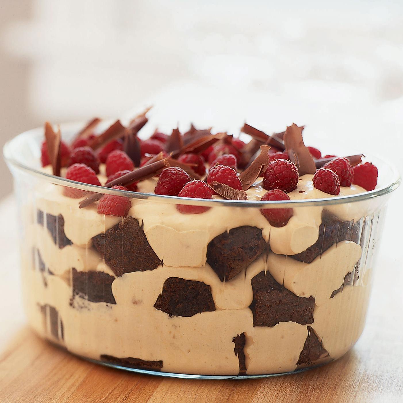 Brownie Mocha Trifle Recipe: Thanksgiving Desserts