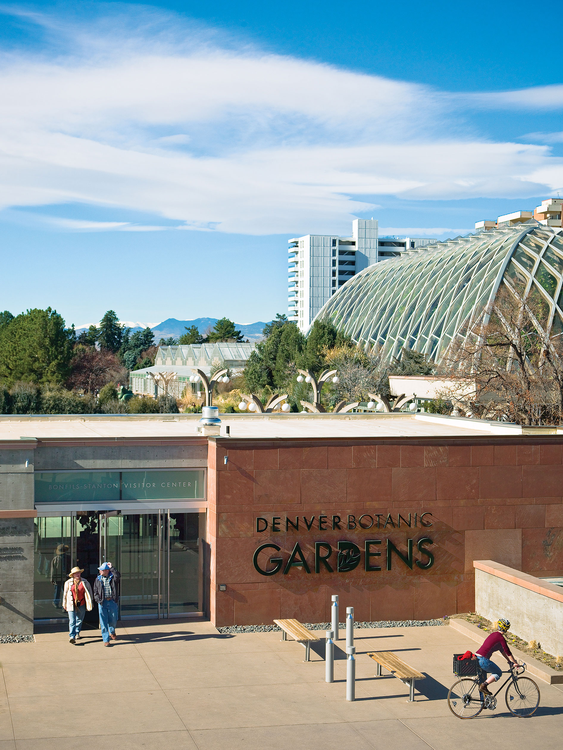 Denver Botanic Gardens Dog Friendly