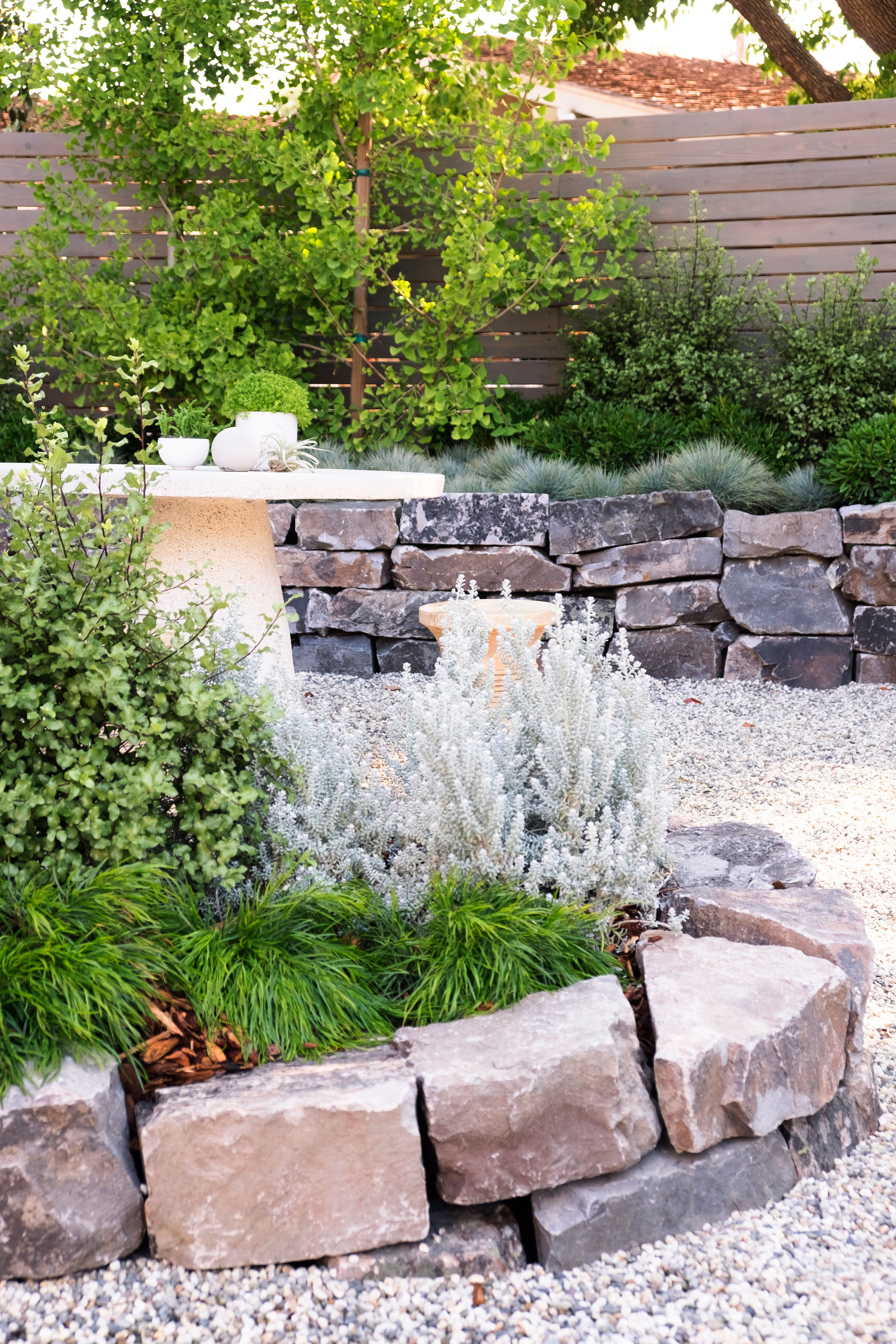 Create Planters With Stacked Stone
