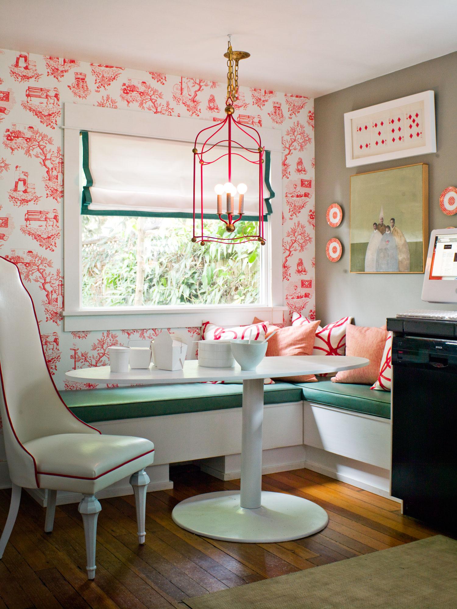 Glidden Smoky Charcoal bright color & paint palette ideas - sunset magazine