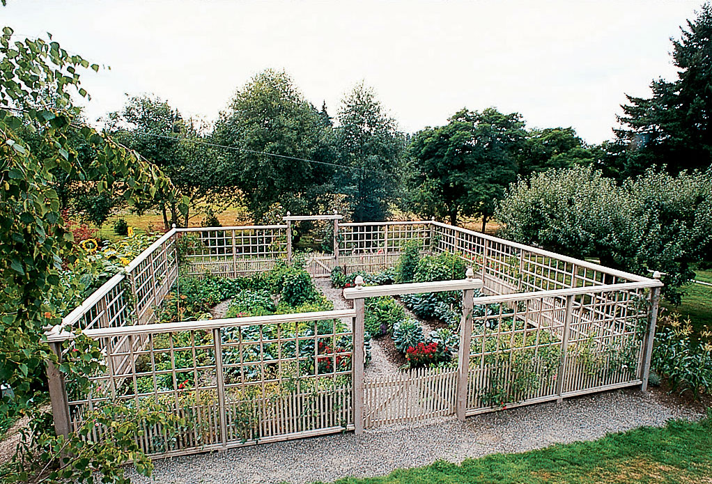 Nice Vegetable Garden Fence Ideas Part - 11: Deer-Proof Vegetable Garden