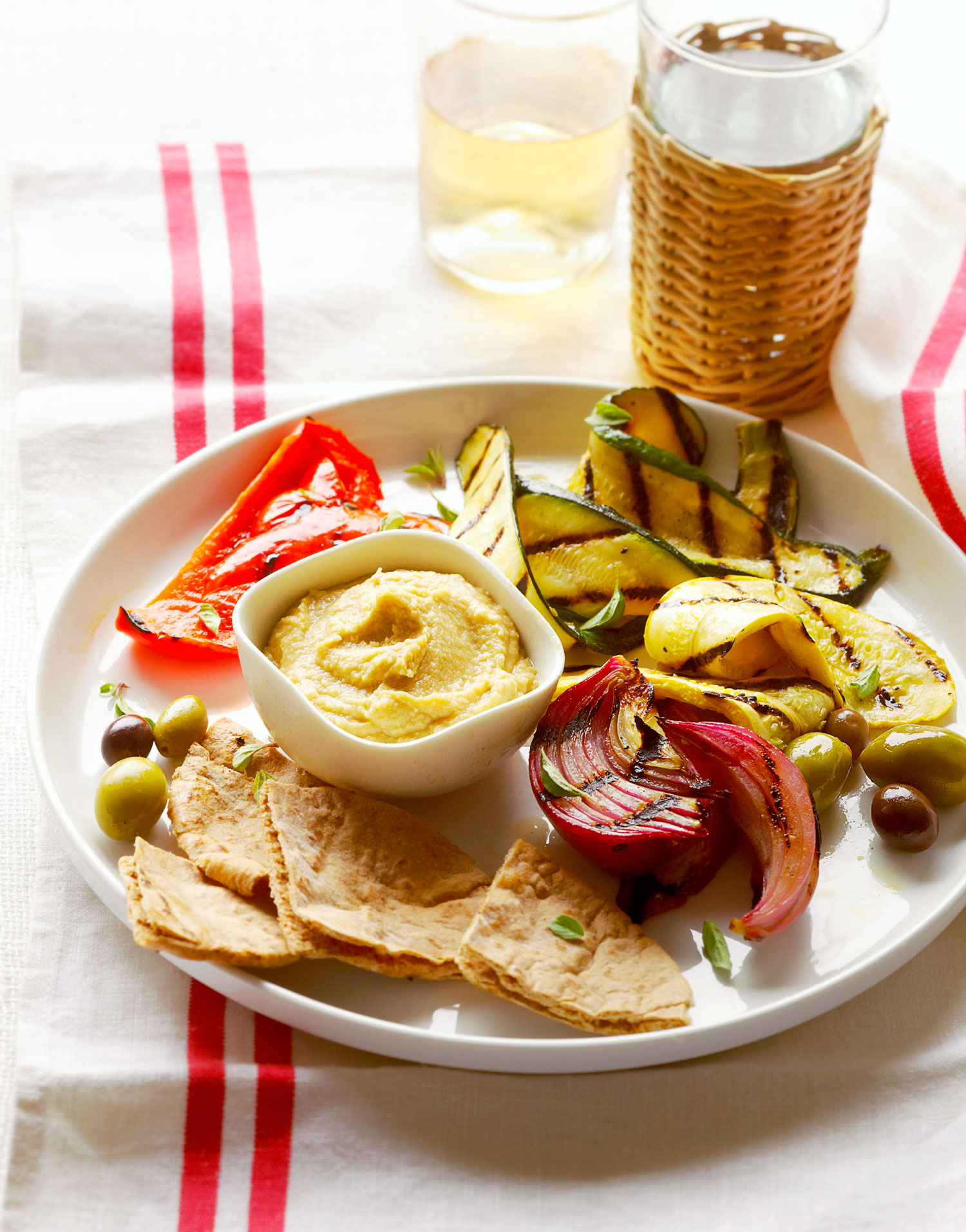 Cook up healthy dishes with the flavors of greece turkey and more grilled vegetable meze plate forumfinder Image collections