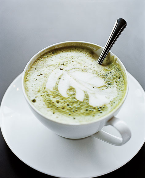 Fresh Flours - green tea latte