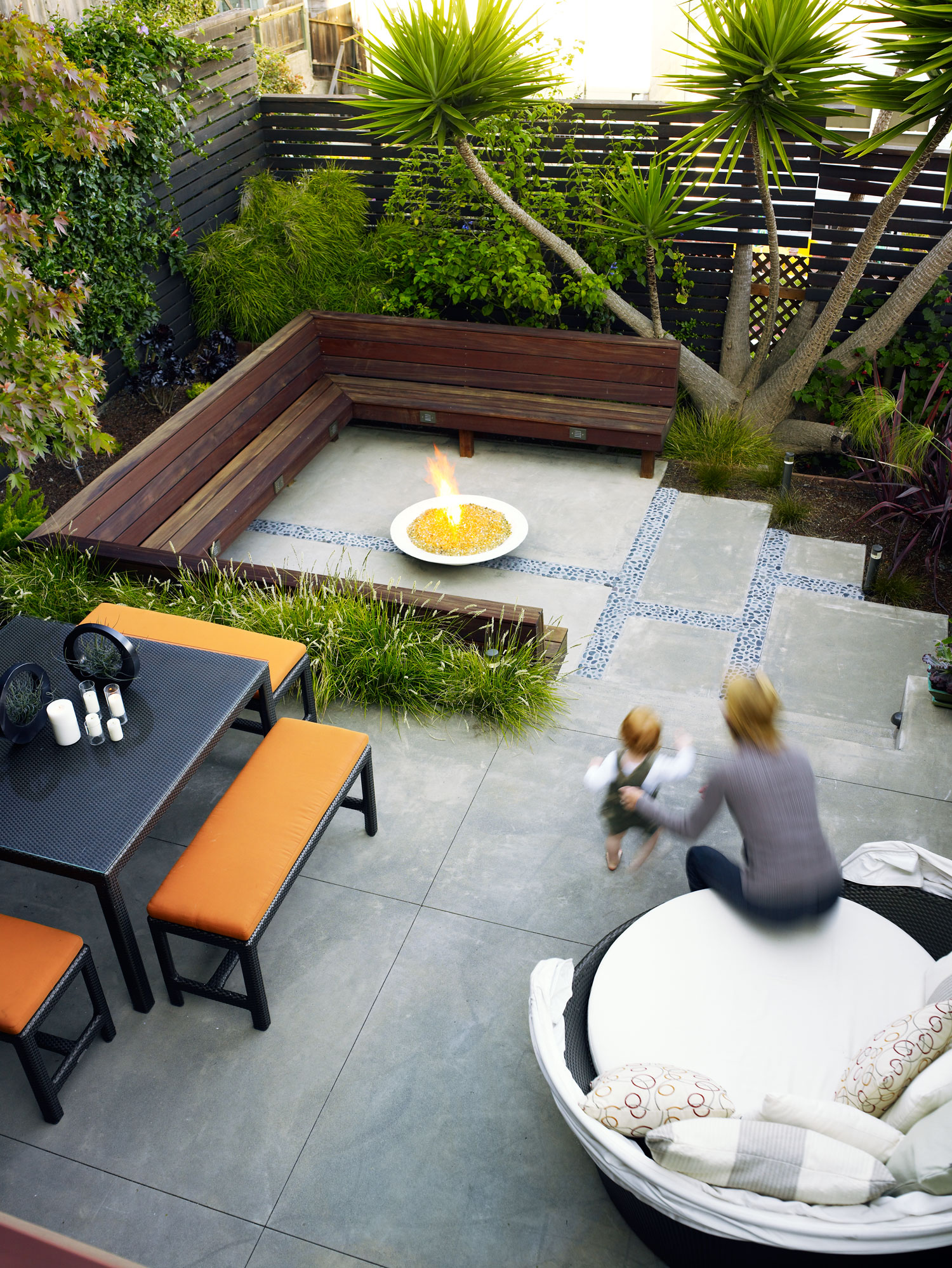 Before after small yards think big sunset magazine for How to landscape backyard