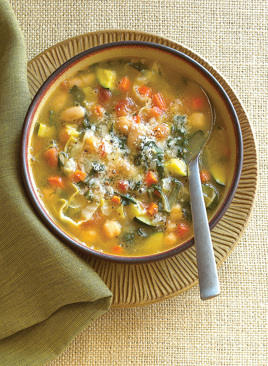 12 Sensational Vegetable Soups