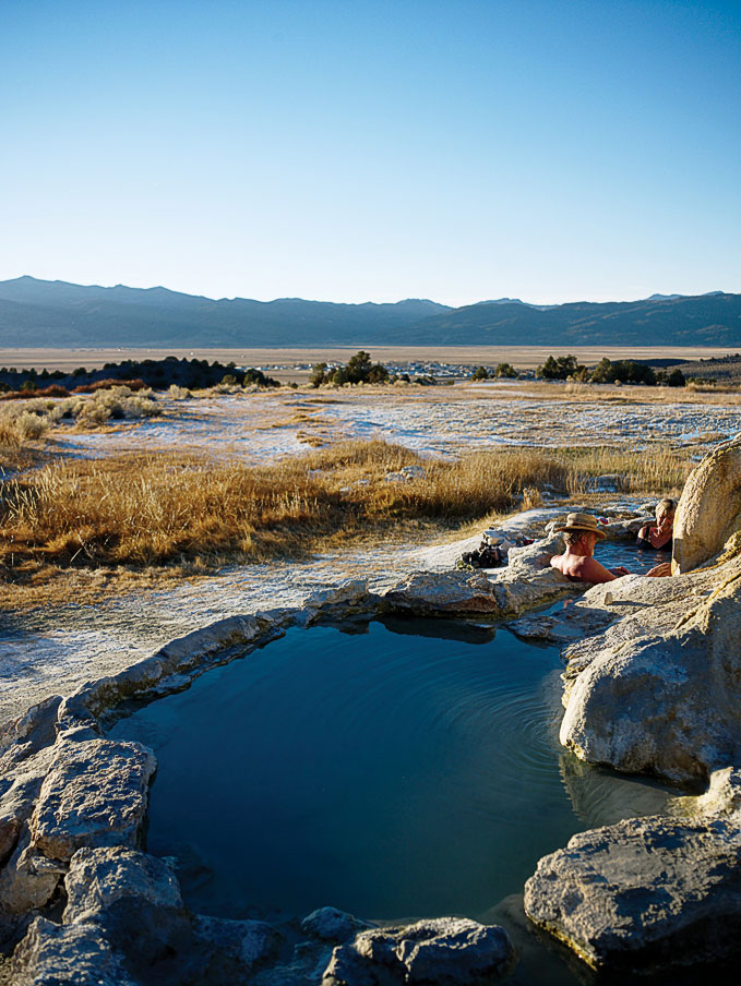 Travertine Hot Springs outside Bridgeport, CA