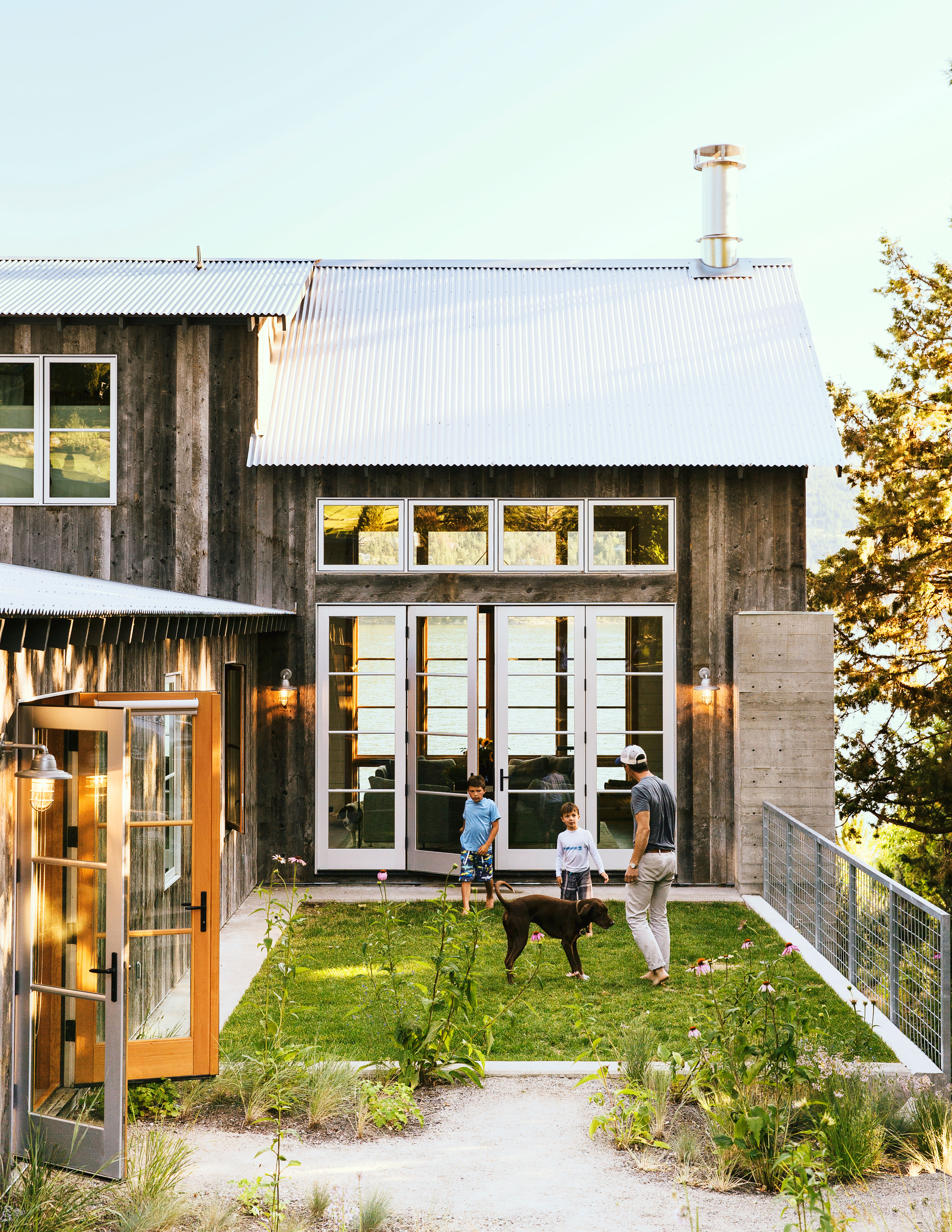 How to Design a Lake House Sunset Magazine
