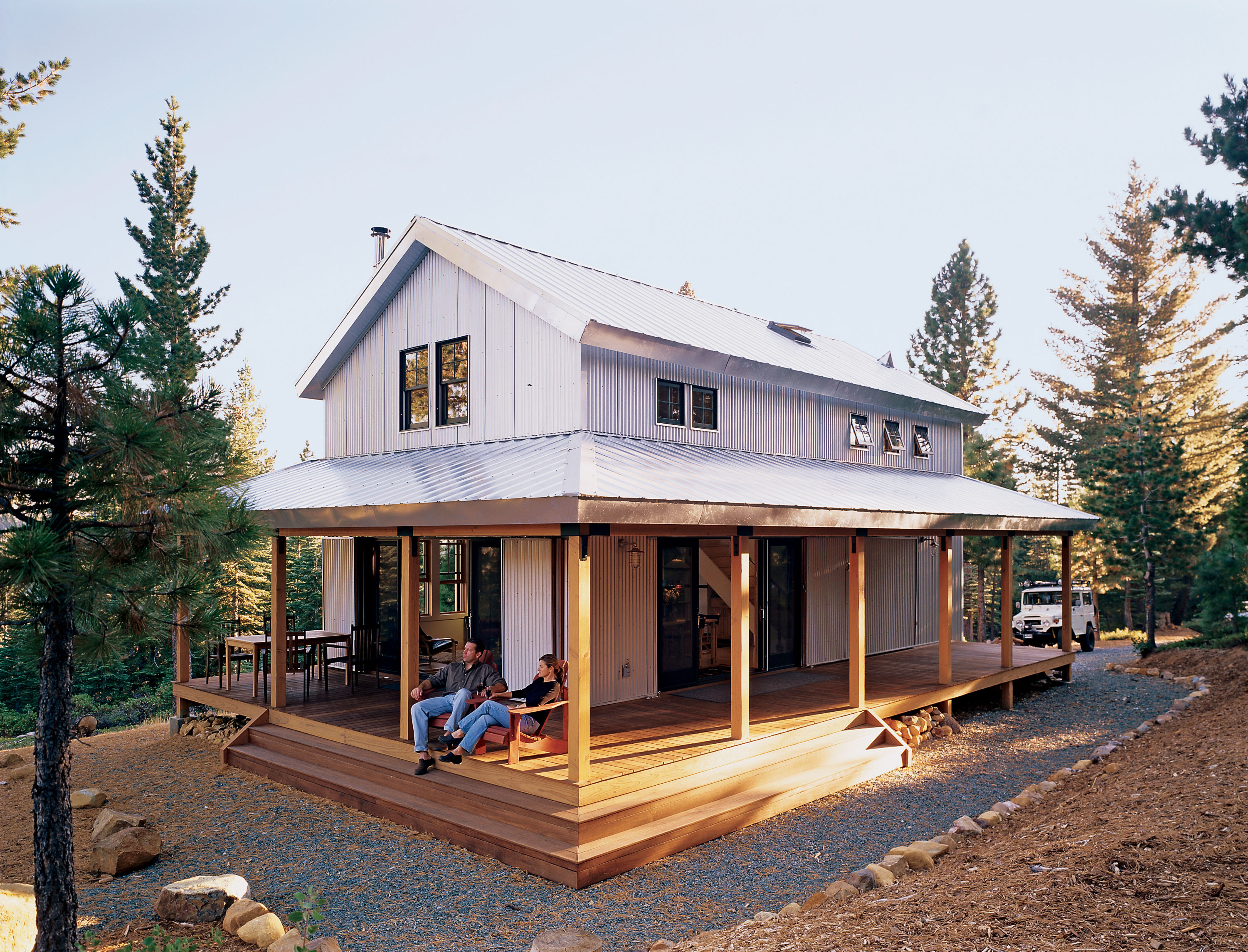 Off the grid cabin sunset magazine - Designing and building your own home ...
