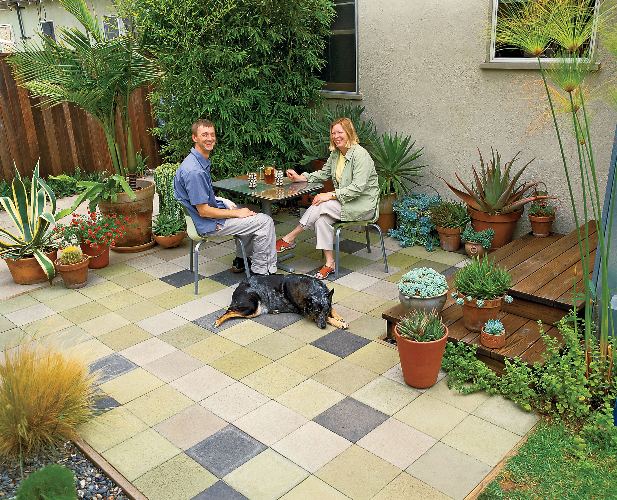 Cheap Patio Idea Sunset Magazine