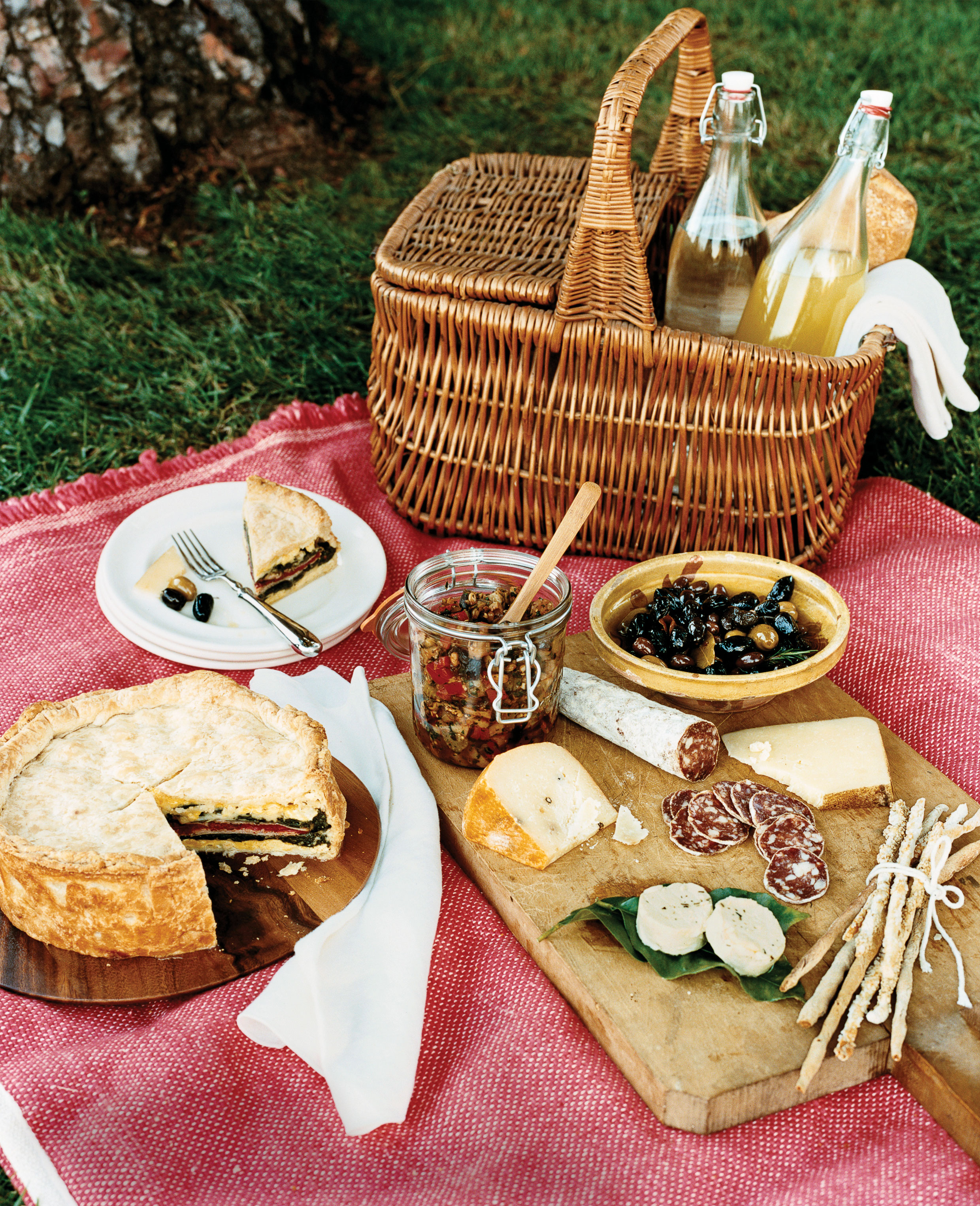 Recipes For An Italian Picnic