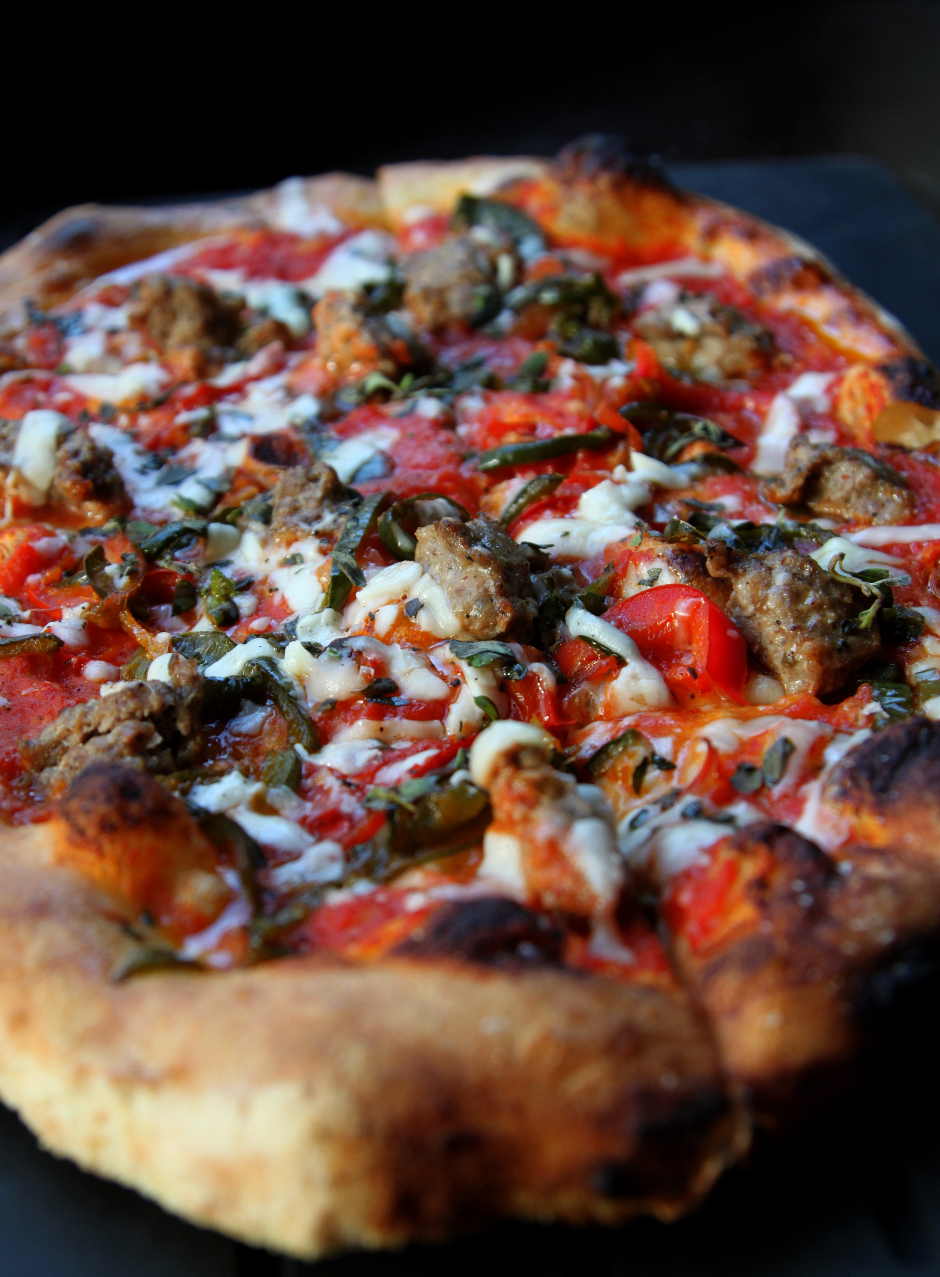 Sweet Fennel Sausage Pizza