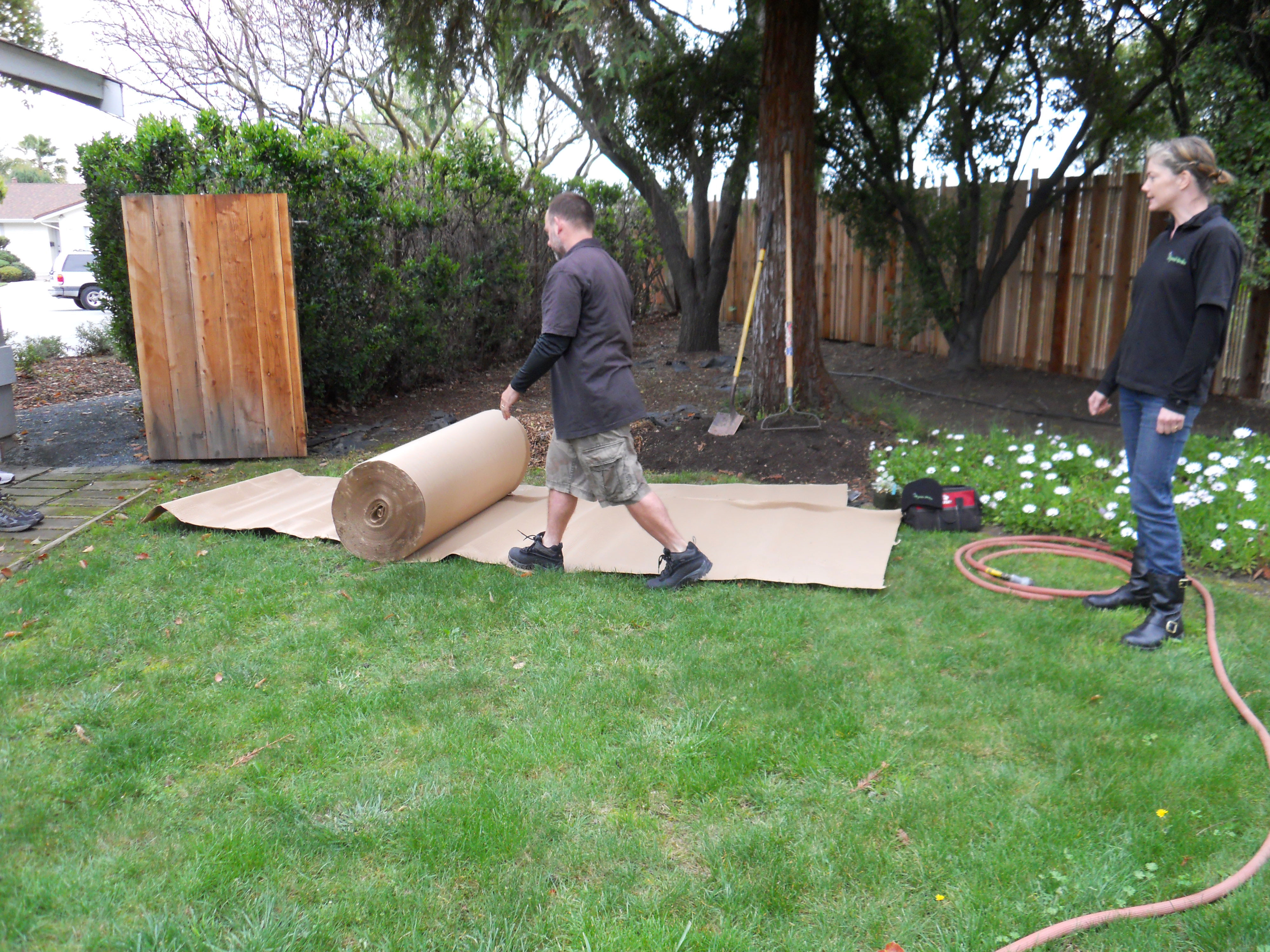 How to Remove a Lawn