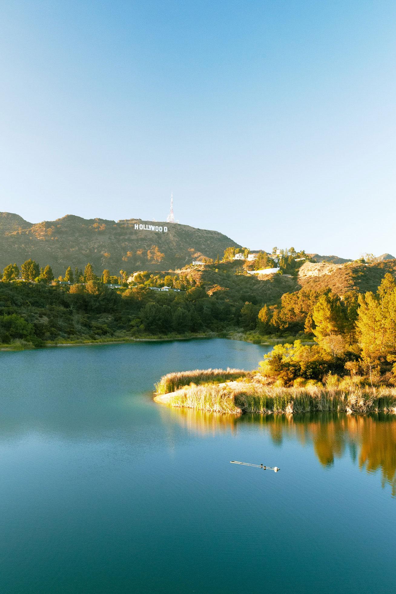 Lake Hollywood Reservoir Walking Trail