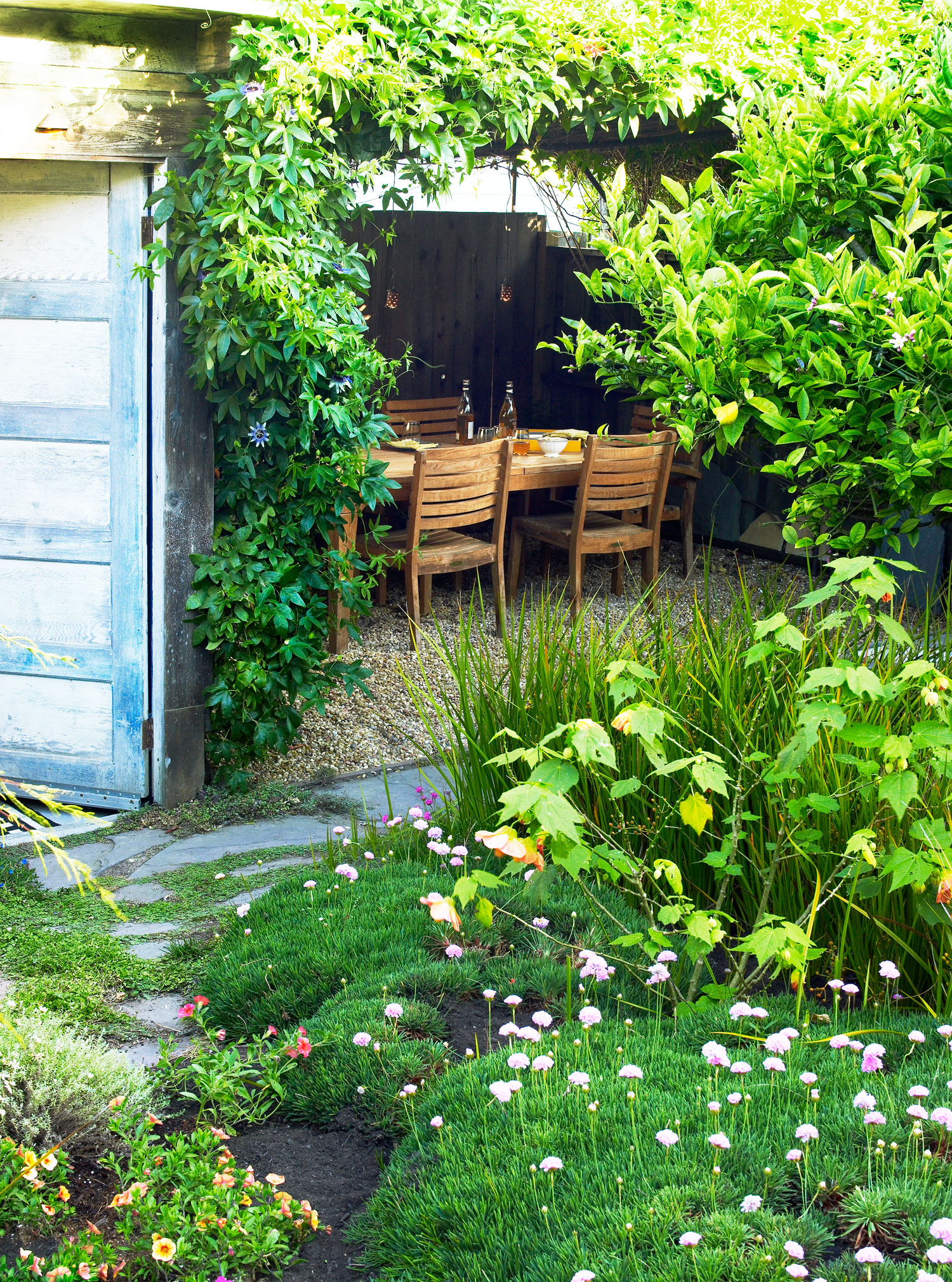 Sustainable Garden Ideas 7 ways to design a sustainable garden sunset magazine permeable paving sisterspd
