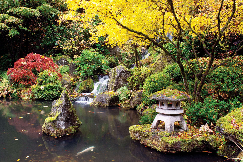 Portland japanese garden sunset magazine for Japanese back garden
