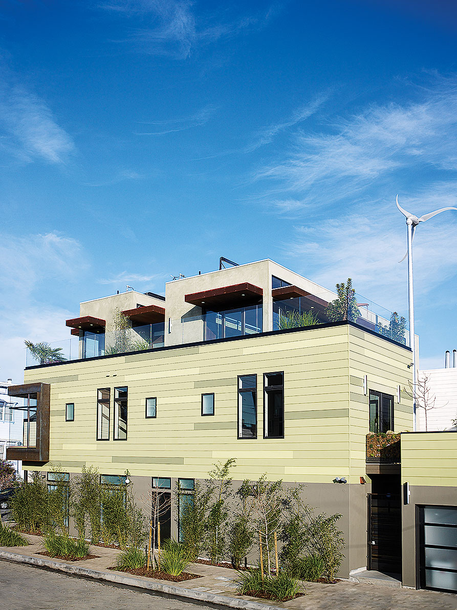 The sunset lake tahoe idea house takes its design cues for Maine eco homes