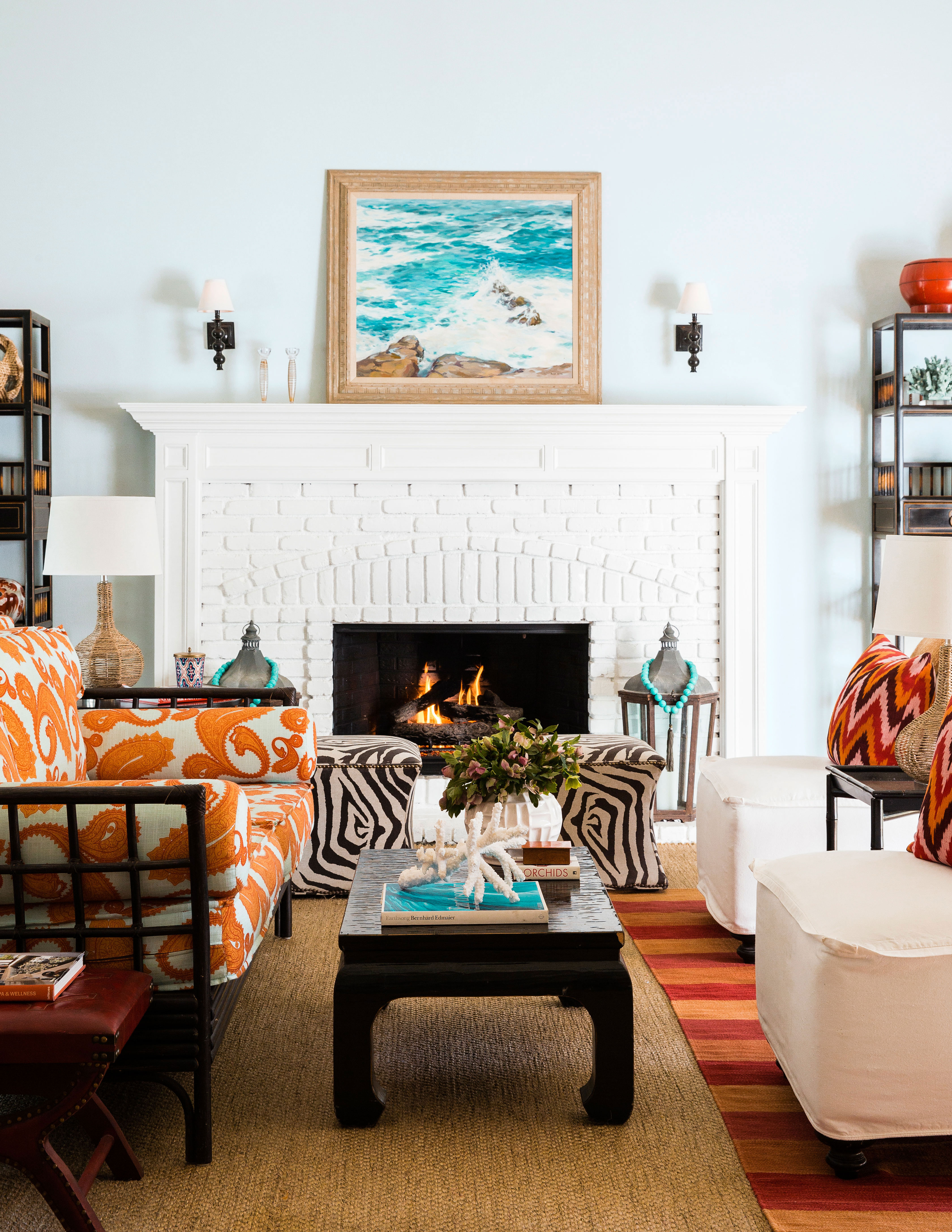 How to Style a Fireplace Mantel