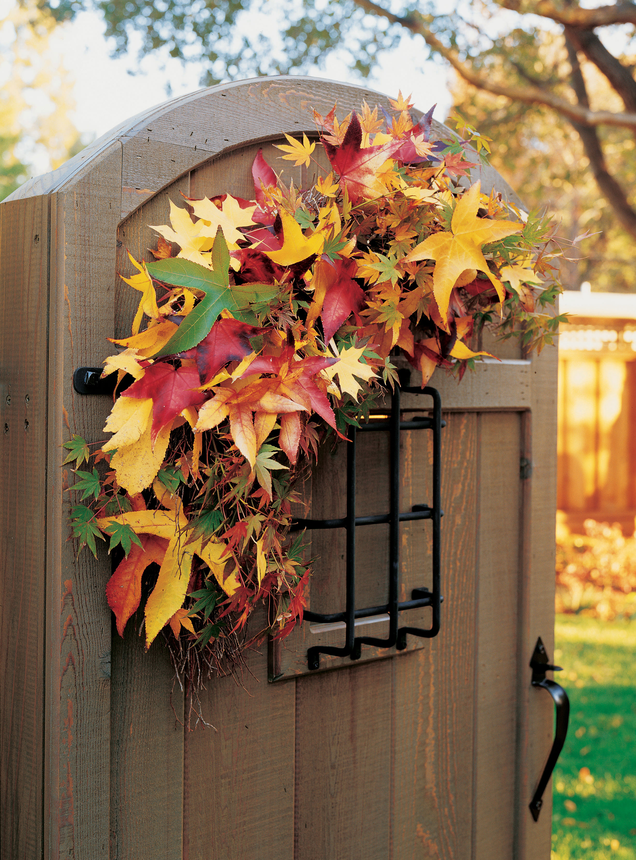 Decorative fall crafts
