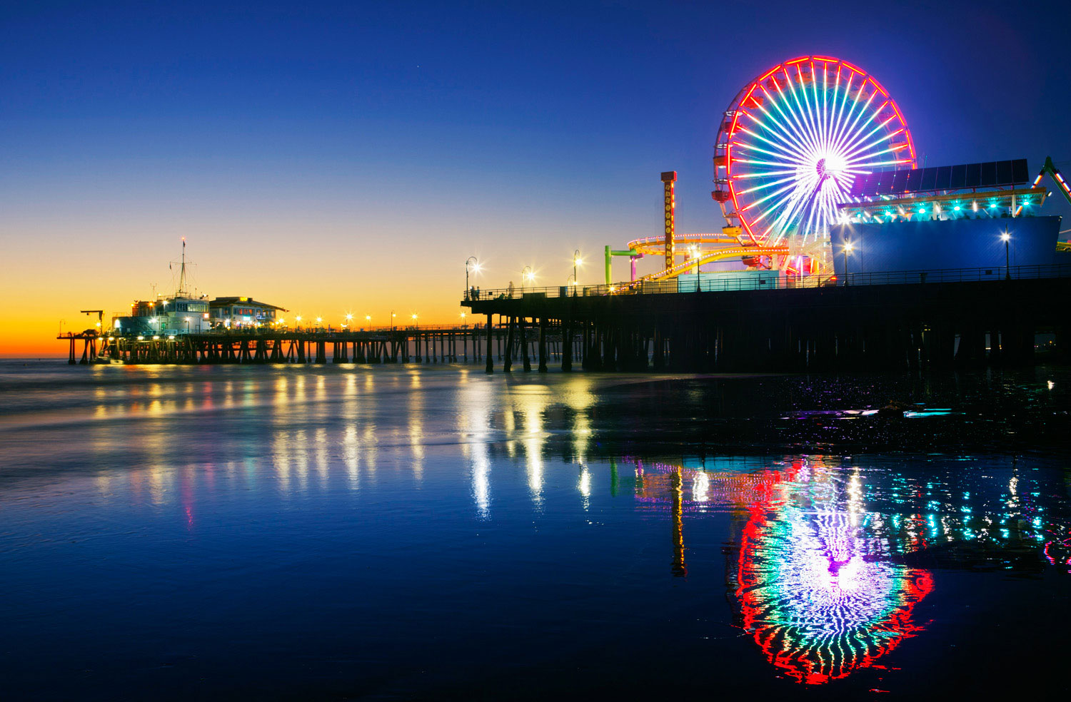 Santa Monica Pier - Sunset Magazine