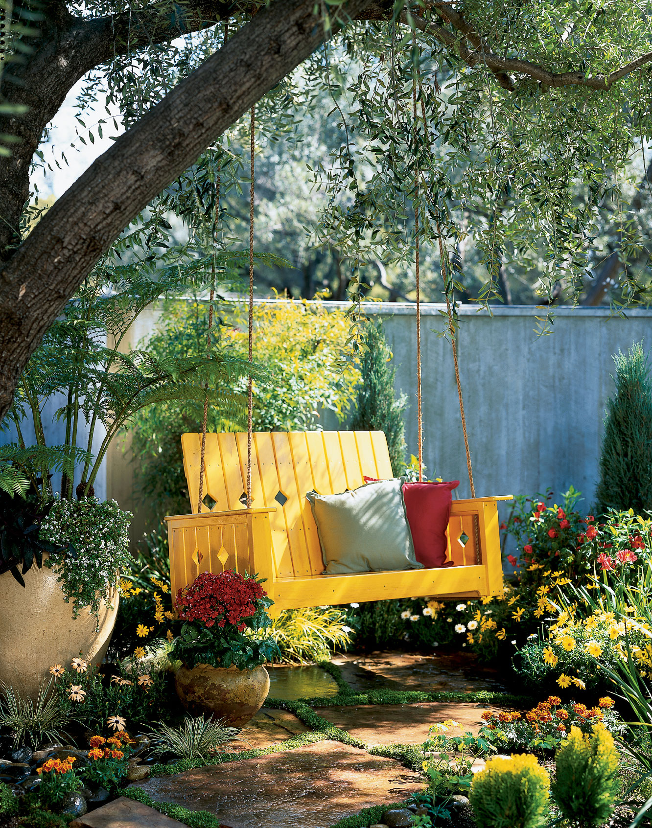 Good Diy Garden Part - 11: DIY Garden Swing