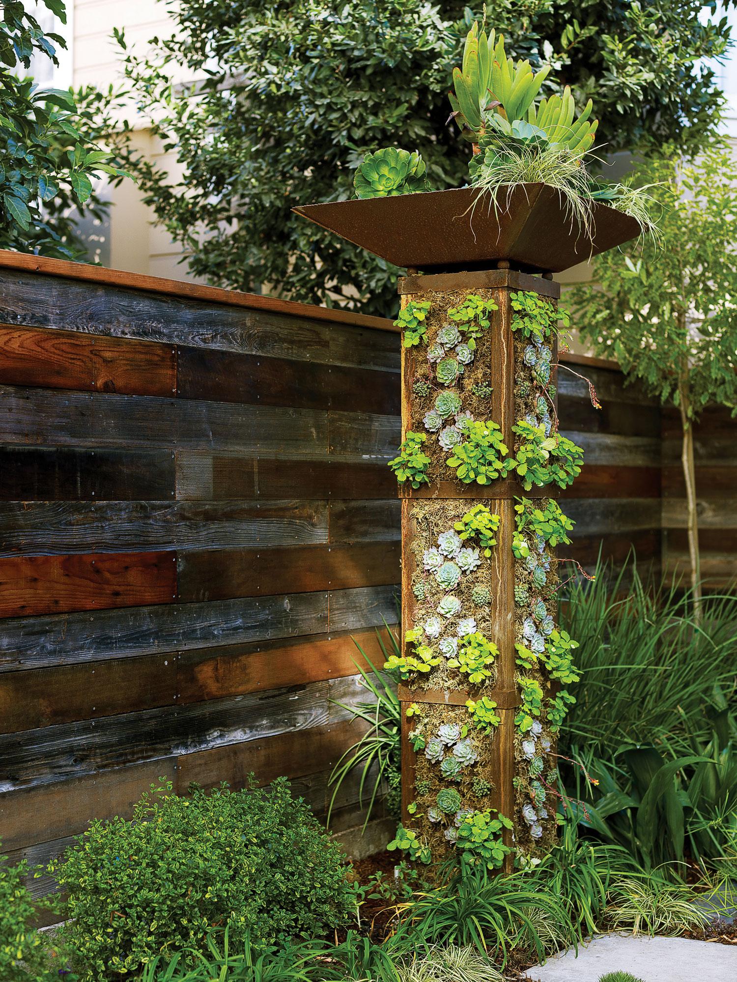 Plant a Garden Tower - Sunset Magazine