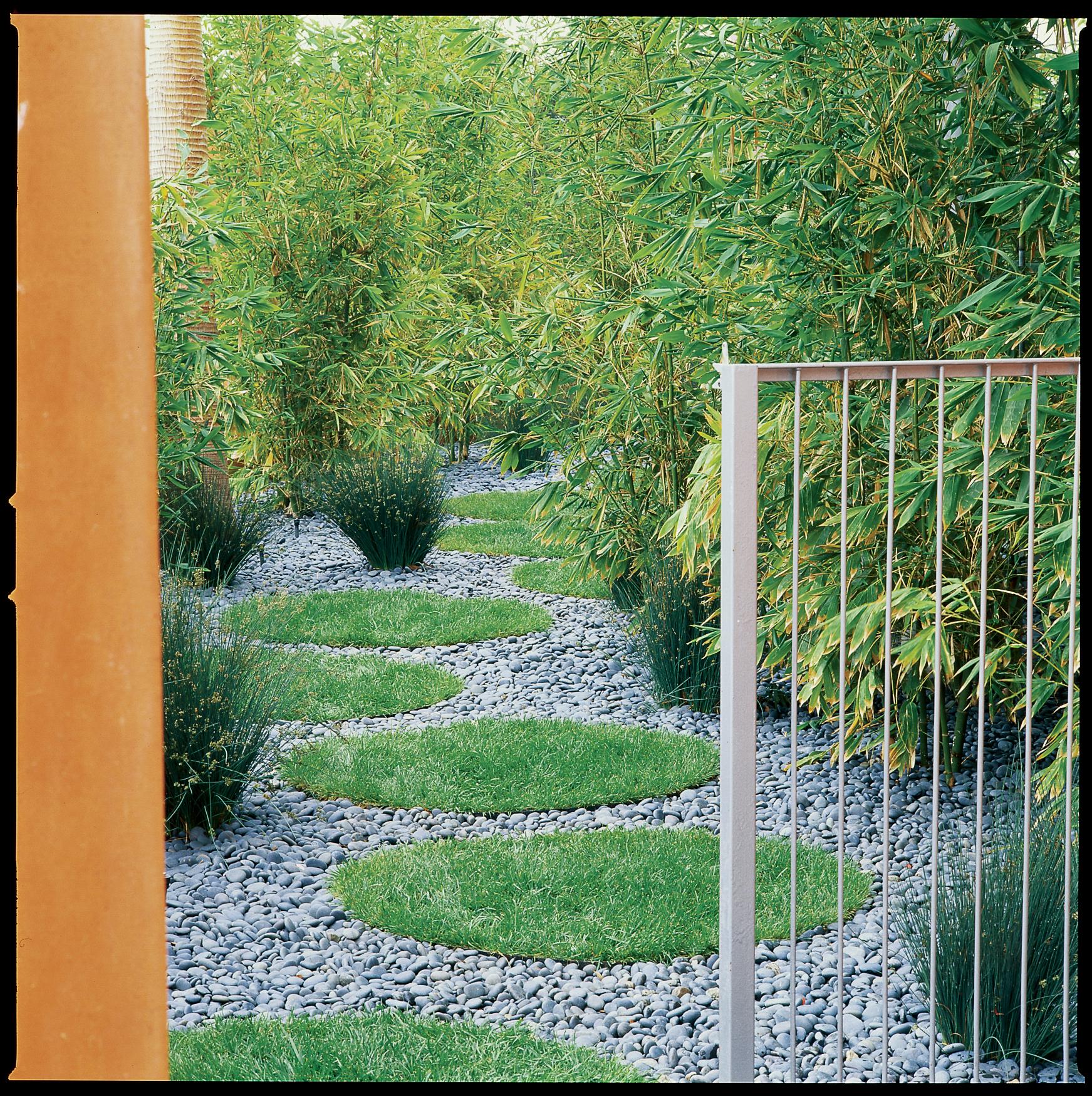 Garden Path Landscaping 38 gorgeous garden paths sunset magazine grass circle path workwithnaturefo