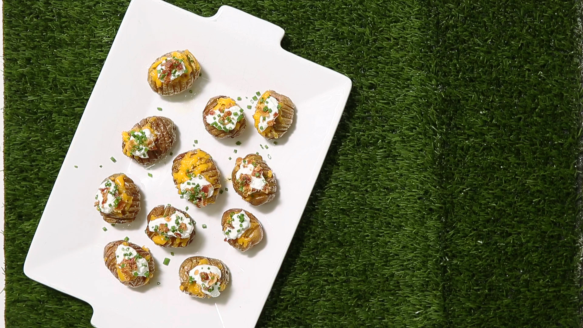How to Make Mini Football Potatoes