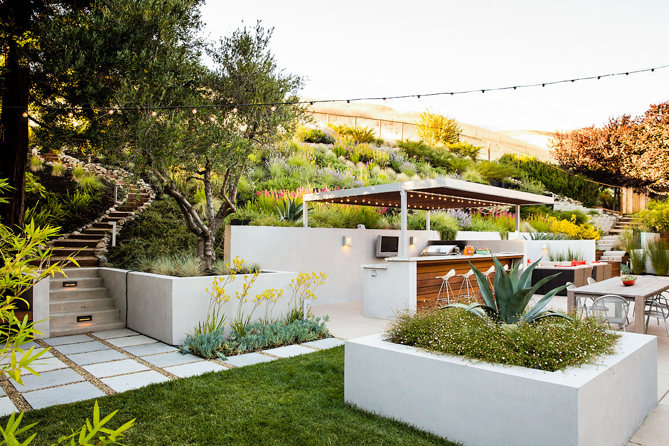 9 Ideas For A Hillside Garden Sunset Magazine