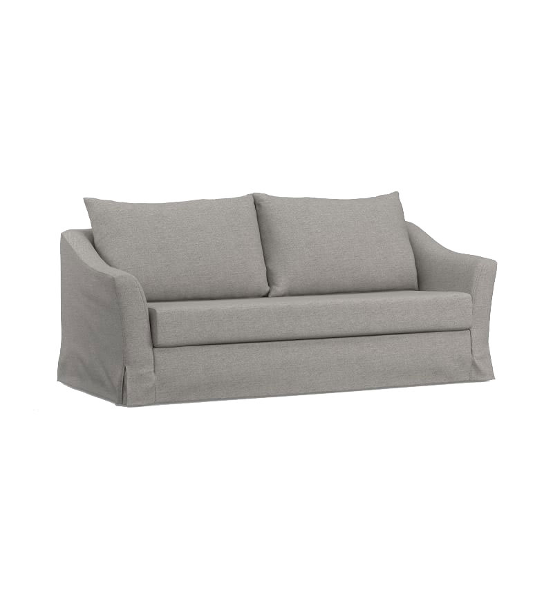 SOMA Brady Slope Arm Slipcovered Sleeper Sofa
