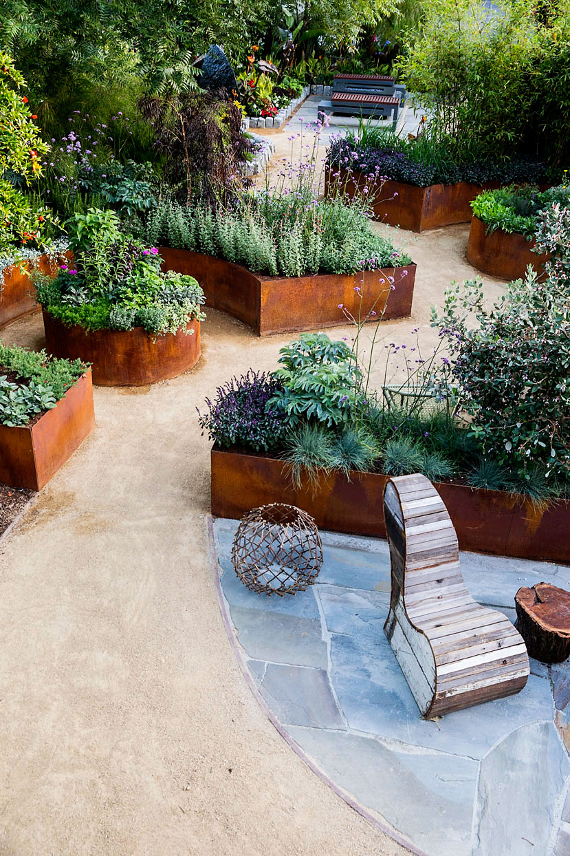 10 Design Ideas for a Tiny Edible Garden - Sunset Magazine ... on Outdoor Patio Design Ideas id=26170