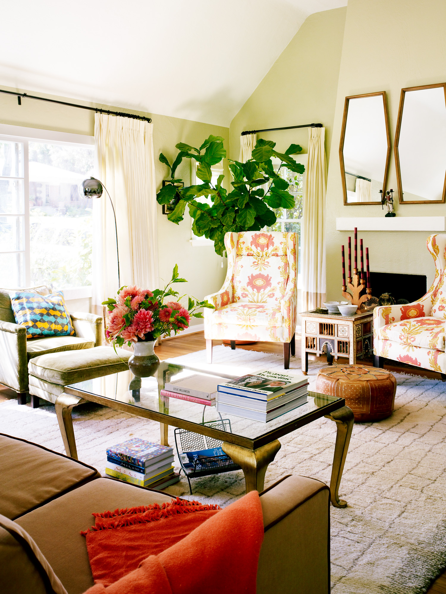 Embrace the Ethnic Eclectic 37 Living Room