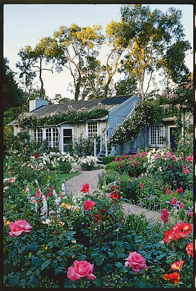 how to create a cottage garden