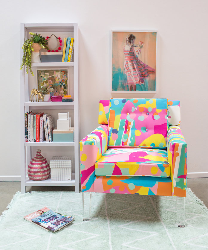 Oh Joy!'s First-Ever Furniture Collection Is a Candy-Colored Dream