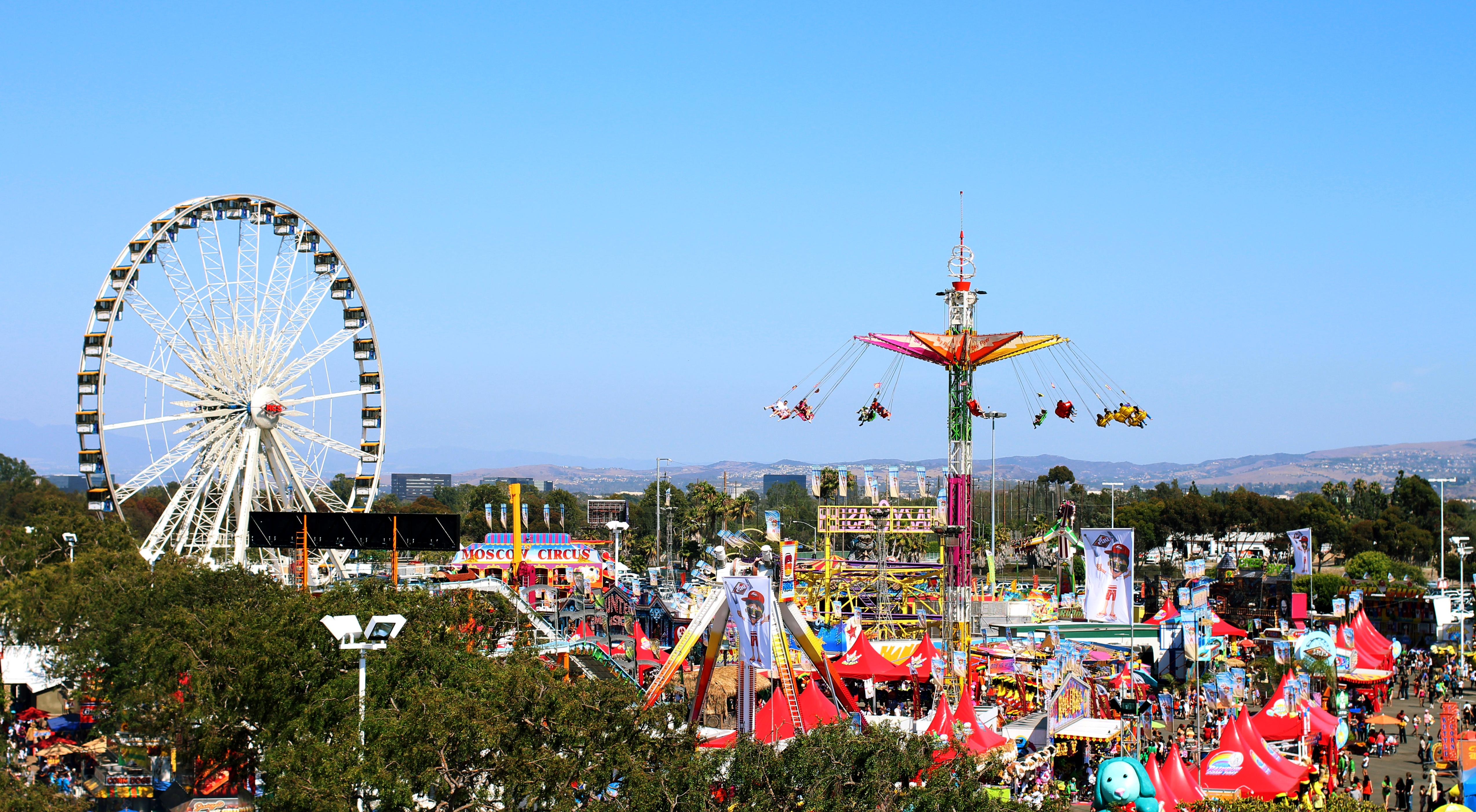 OC Fair, Costa Mesa, CA, Jul 13–Aug 12