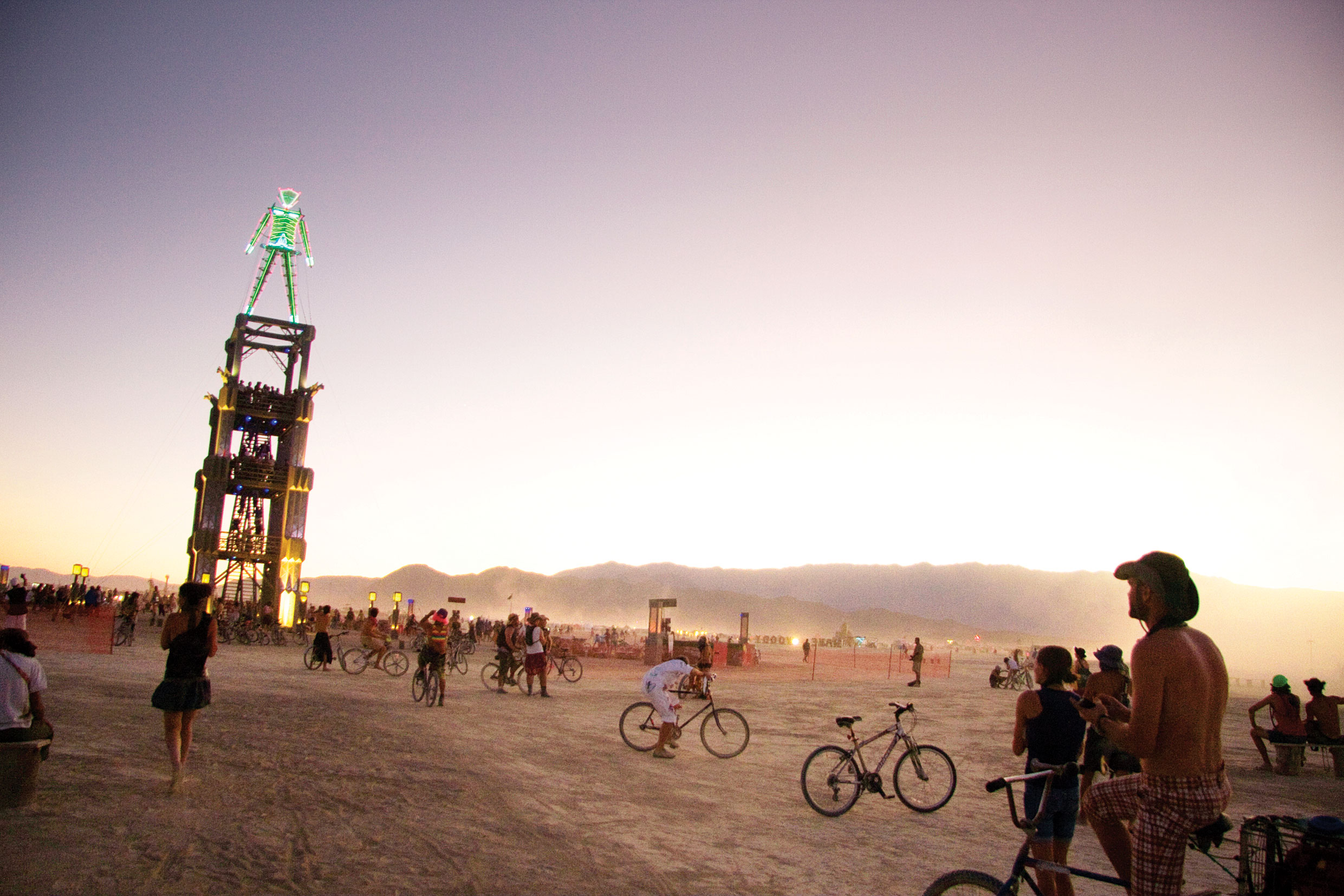 Burning Man, Black Rock Desert, NV, Aug 26 – Sep 3