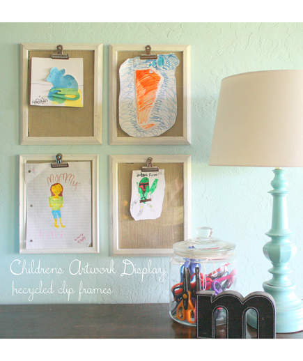 10 Smart Ways to Store Your Kid's Art