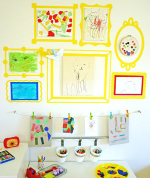 Wall Frame Decals