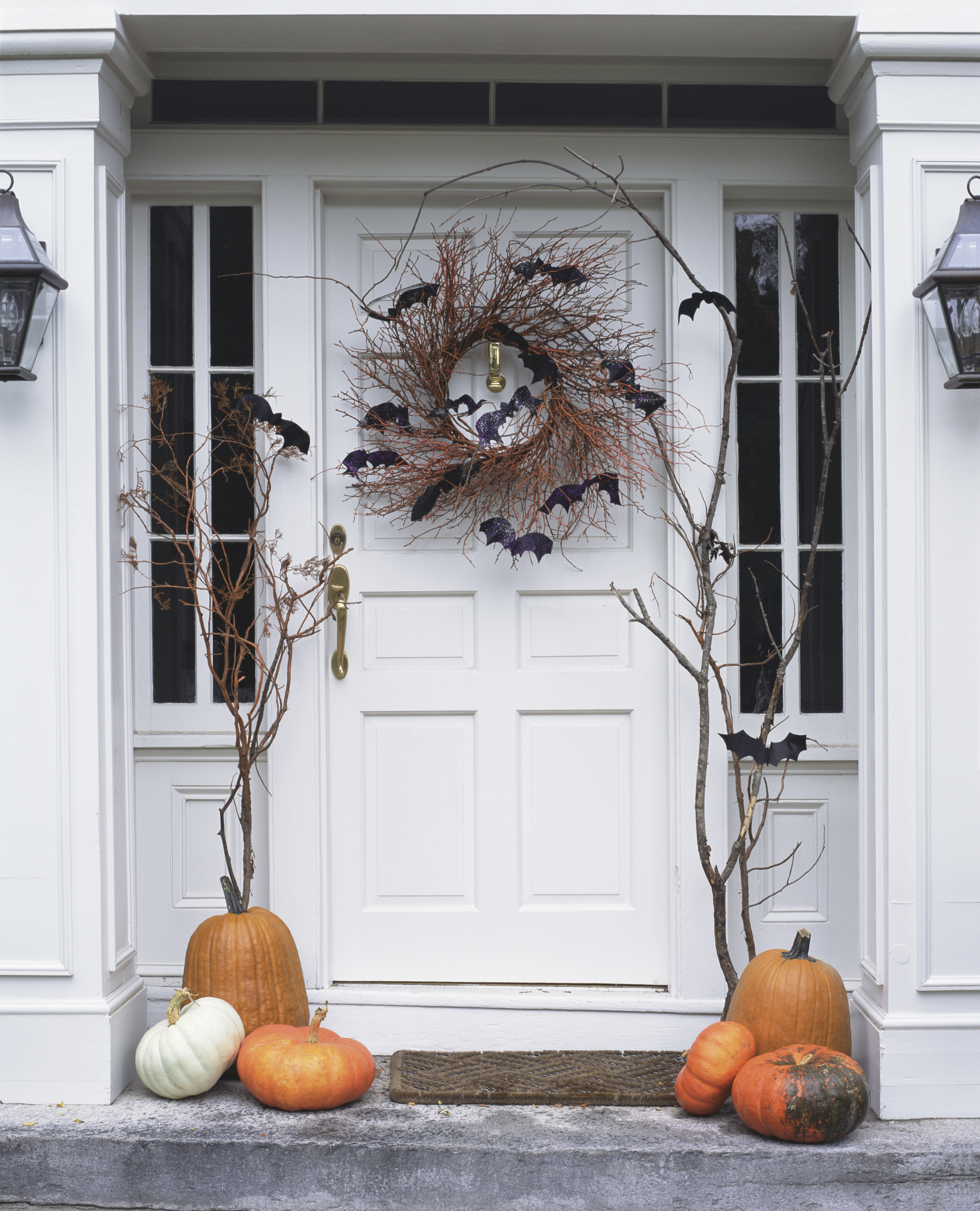halloween window to events decorations celebrate monsters decoration decor door