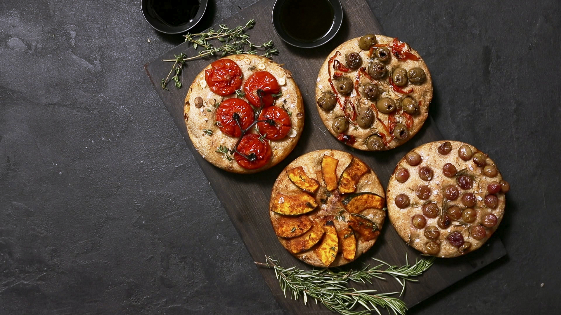 4 Ways to Make Fall Focaccia