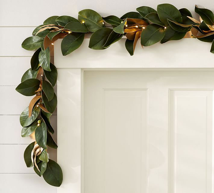 Hang A Festive Garland To Usher In The Holiday Season And