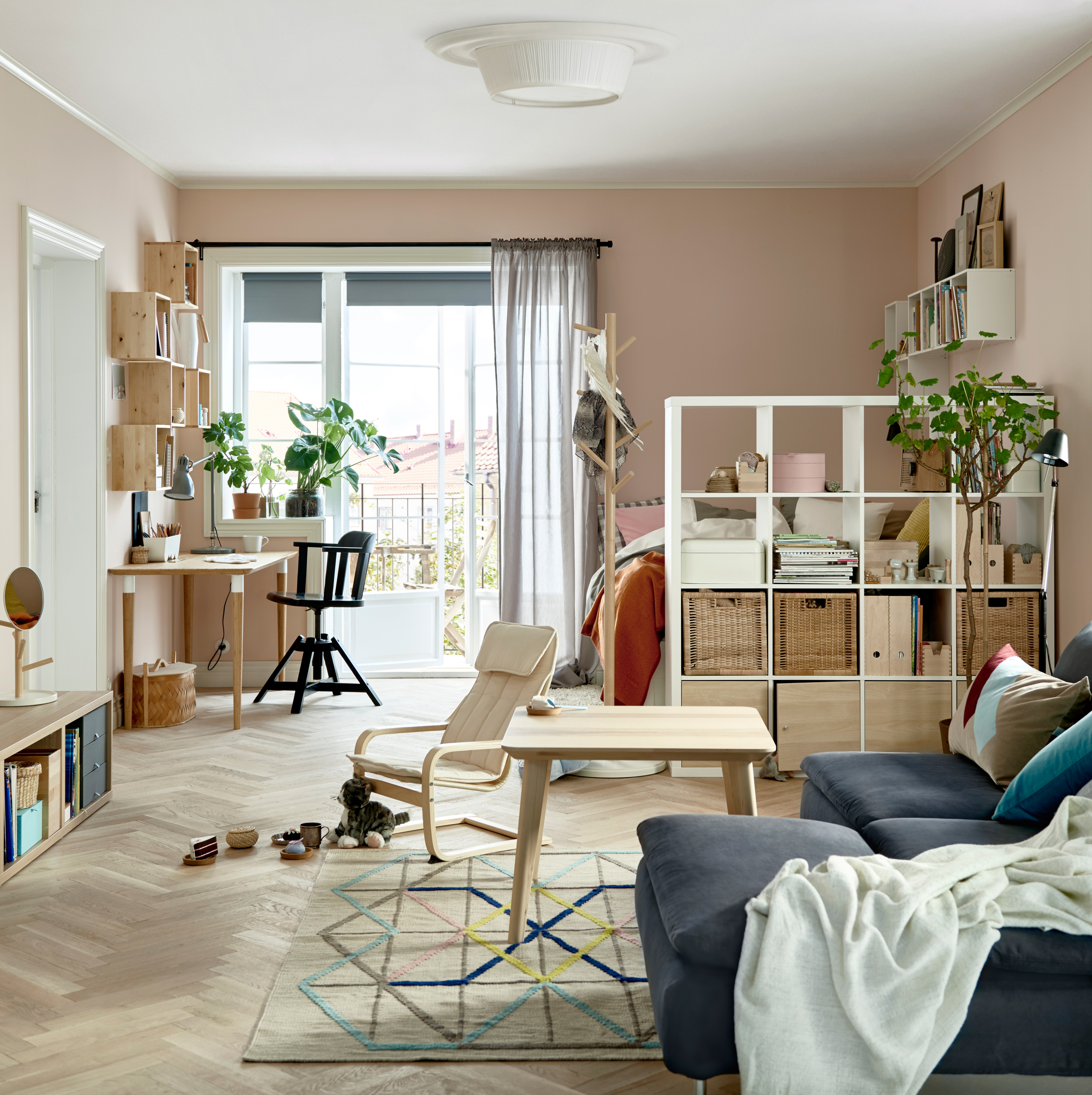 Apartment Searching Sites: It Won't Feel Like One Room With These Clever Arranging