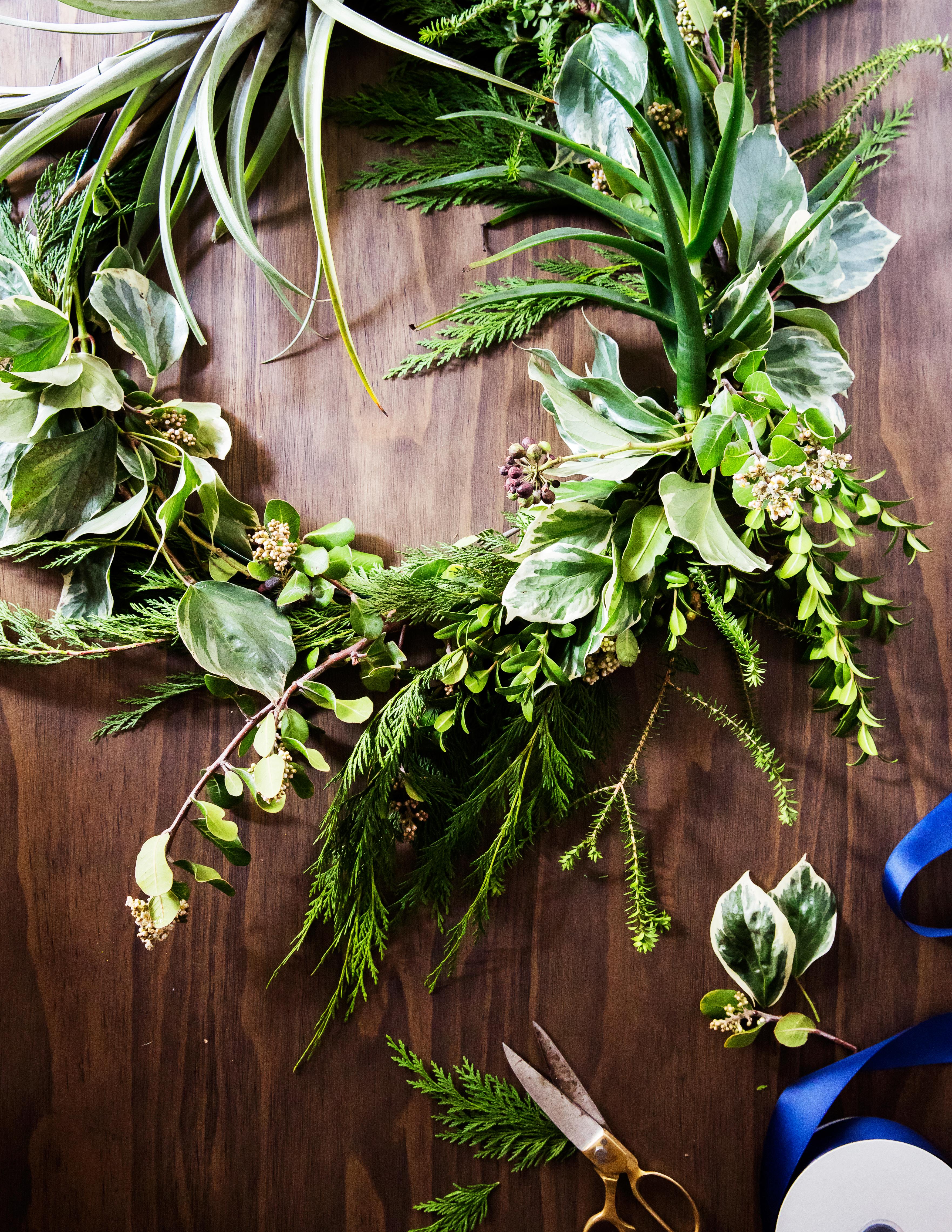 garden fresh - Wreath Ideas