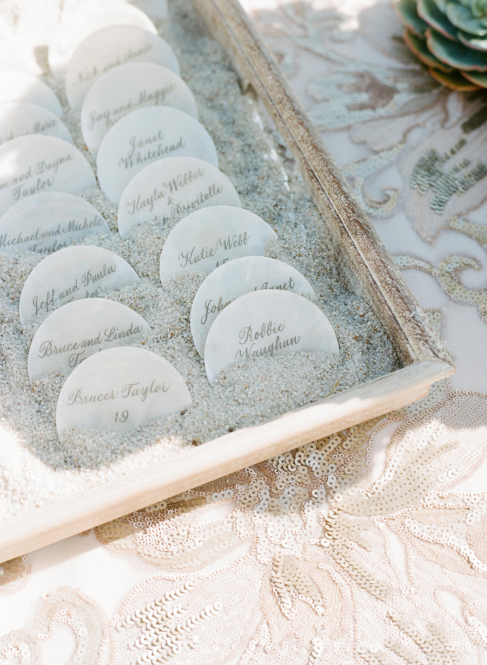 Beautiful ideas for a beach theme wedding sunset magazine junglespirit Gallery