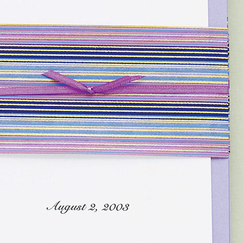 Wedding invitation No. 2: The wrap
