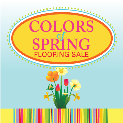 COLORS OF SPRING SALE: